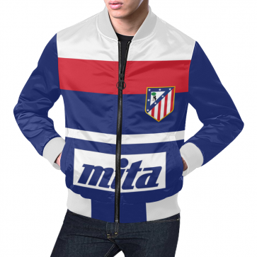 atletico madrid retro jacket