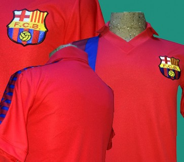 F.C. BARCELONA | MODELO ALTERNATIVO ROJO | TEMPORADA 1983