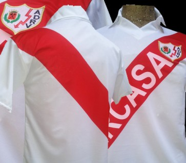 RAYO VALLECANO | CAMISETA ASCENSO 1989