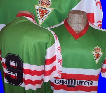 REAL MURCIA | CAMISETA ALTERNATIVA | DECADA DEL