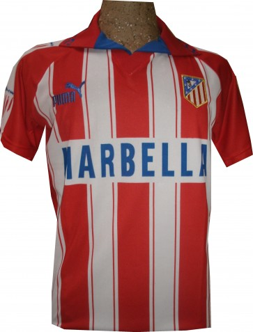 Camiseta Cholo Simeone Atletico Madrid 1996 Doblete 02