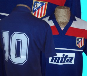ATLETICO MADRID ALTERNATIVA | PAULO FUTRE | 1987