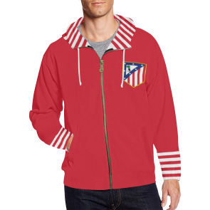 sudadera retro atletico madrid